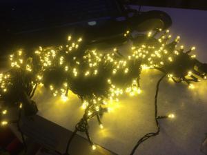 Dây đèn led ngoài trời chống nước 5m-32k( trắng-vàng)