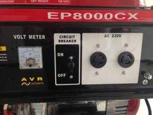 Địa chỉ bán máy phát điện chạy xăng động cơ 4 thì ,Honda CX8000 EP