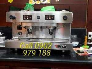 Thanh lý máy pha cà phê WEGA Wega Orion 2 group.