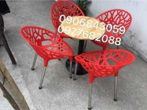 Bàn ghế nhựa lỗ giá rẻ