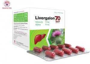 Bổ gan thanh nhiệt giải độc Livergalon 70 MDP