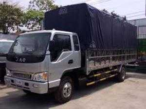 Xe tải Jac, 6.4t, Thùng mui bạt 6m2