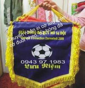 Cờ lưu niệm cho các giải bóng đá chuyên nghiệp