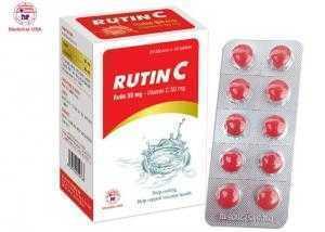 Rutin C tăng sức bền mạch máu não