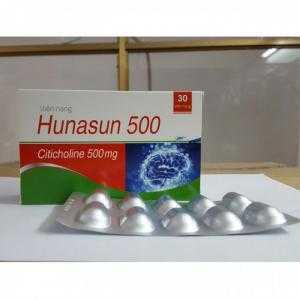HUNASUN 500 - Thực phẩm bảo vệ sức khỏe bổ não, bổ thần kinh