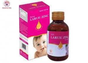 Bổ sung kẽm, lysine, DHA ăn ngon miệng – Sirô LARUE ZINIC