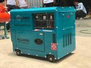 Máy phát điện 5kva chạy dầu Tomikama giá tốt