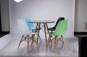 Bàn ghế nhựa chân gổ giá rẻ