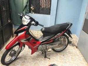 XE Suzuki Smat Revo 110 màu đỏ đen. máy móc nguyên bản