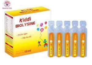 KIDDI BIOLYSINE sirô ống 10ml – Hỗ trợ miễn...