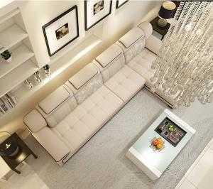 Sofa phòng khách hiện đại HT1405 - Xưởng sản xuất sofa giá rẻ