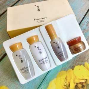 Bộ chăm sóc da Set Sulwhasoo Mini 4 món - mỹ phâm Hàn Quốc hàng chính hãng xách tay