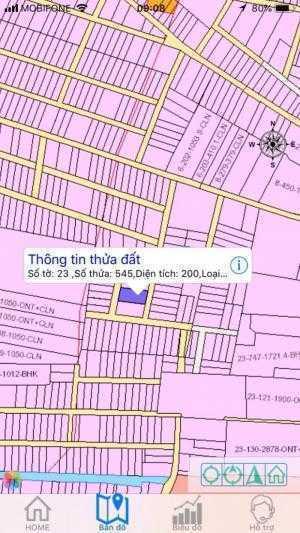 Bán lô đất Phú Đông 10x20 hai mặt tiền đường...