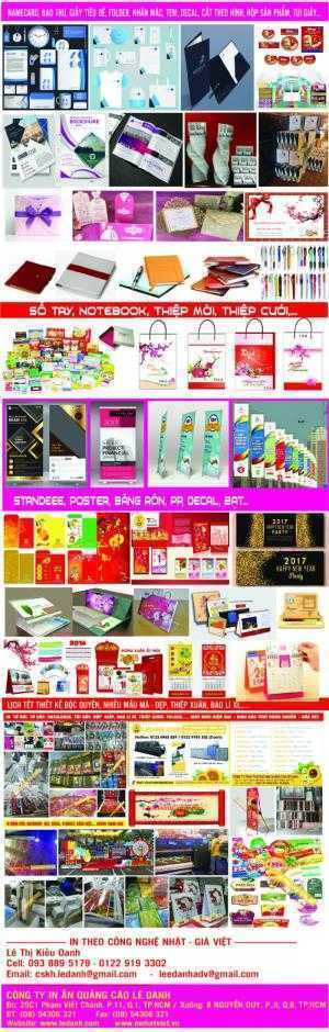 In bạt, decal, Standee, format,... banner, backdrop sự kiện....