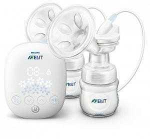 Máy hút sữa Avent điện đôi giá siêu KM