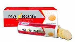 MAXBONE - Bổ sung canxi và vitamin D3