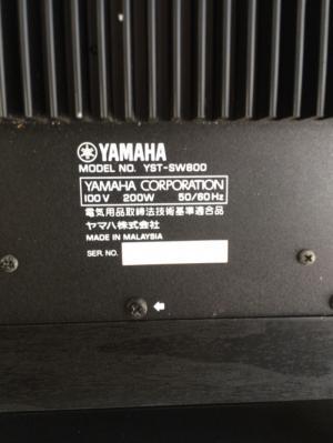 Chuyên bán Sub Yamaha SW 800 Hàng tuyển chọn