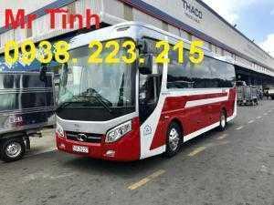 Giá xe - thông số - nội thất - màu xe - ưu đãi xe 29 chỗ bầu hơi thaco tb85 E4 2018 mẫu mới nhất hiện nay ở sài gòn