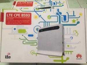 Router Wifi Xe Du Lịch 4G Huawel Optus B593 (30 User 1 lúc + Phát Wifi Từ Sim)