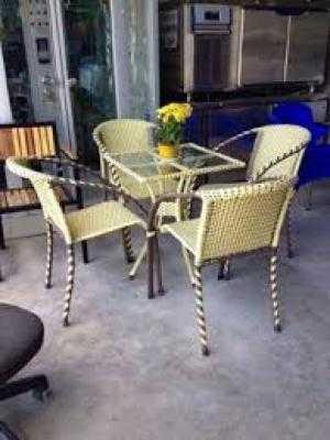 Bàn ghế cafe giá rẻ NN78