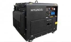Máy phát điện 5kW chạy dầu diesel Hyundai DHY6000SE lắp ráp với công nghệ Hàn Quốc