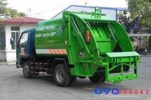 Bán trả góp Xe cuốn ép rác Thaco FLD250A 04...