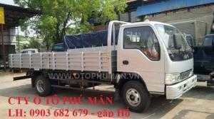 Xe tải JAC 1T49 công nghệ Isuzu giá trên thị trường bao nhiêu?