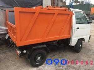 Bán trả góp Xe tải ben Chở Rác mini Suzuki...