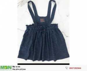Váy yếm giả jean size 5y>12y