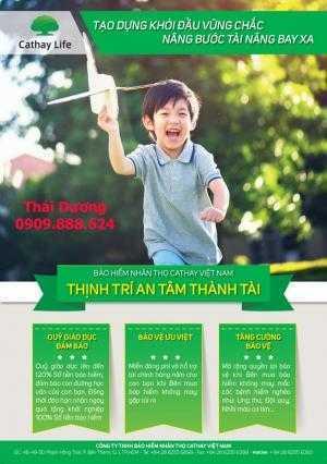 Bảo hiểm cho trẻ em Thịnh Trí An Tâm Thành Tài Mã C18