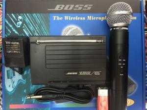 Micro không dây Boss TM300 bộ 1 mic chuyên karaoke, trợ giảng, hội hợp