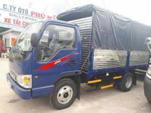 Đại lý xe tải Jac 2.4 tấn/2t4 có máy lạnh thùng dài 3.7m