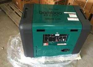 Máy phát điện chạy dầu 5kW động cơ 4 thì Bamboo7800E