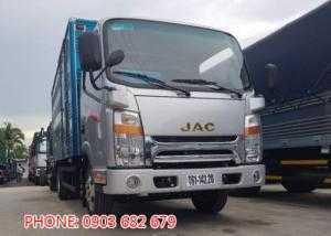 Gía xe tải 2T4/2T5 thùng dài 3.7m hạ tải vào TP giá trả góp