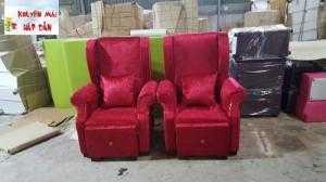 Ghế nail có hộc kéo giá rẻ - Xưởng sản xuất sofa giá rẻ