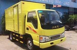 Xe tải Jac 2T4 thùng bạt, thùng kín, thùng...