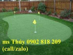 Thi công thảm chơi golf tại nhà, putting green golf