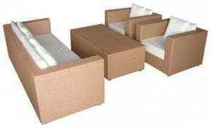 Cần thanh lý sofa mây nhựa giá rẻ hh3