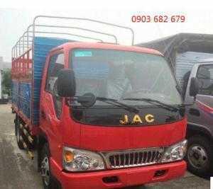 Mua bán xe tải JAC 2t4 động cơ ISUZU Nhật Bản