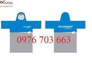 Áo mưa in ấn logo quà tặng tri ân khách hàng