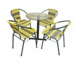 Bàn ghế sân vườn cafe