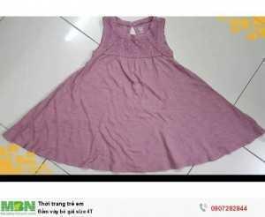 Đầm váy bé gái size 4T