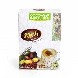 Cacao Rich nguyên chất 170g- none caffeine