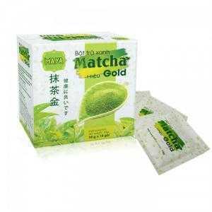 Bột trà xanh matcha hiệu Gold (10gói x 10g)