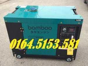 Máy phát điện chạy dầu 7kw Bamboo 9800ET phiên bản mới của Bamboo Nhật