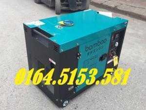 2018-05-24 18:23:59  4  Máy phát điện chạy dầu 7kw Bamboo 9800ET phiên bản mới của Bamboo Nhật 31,000,000