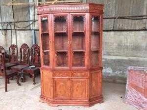 Tủ Rựu Gỗ Hương 1,4m Mẫu Mới Tại Nội Thất Sơn ĐÔng