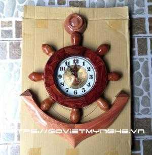 - Mỏ neo tàu gỗ trang trí, mỏ neo tàu gỗ treo tường, mỏ neo tàu gỗ