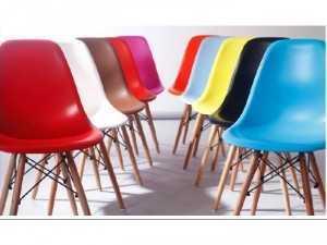 Ghế nhựa chân gỗ cao cấp giá rẻ