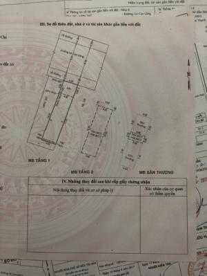 Bán gấp nhà mới đẹp vào ở liền mặt tiền đường 16m Lê Cao Lãng, 4x17m, trệt + 1 lầu, mái đúc, 6.45tỷ